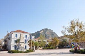 Philellinon square in Nafplio
