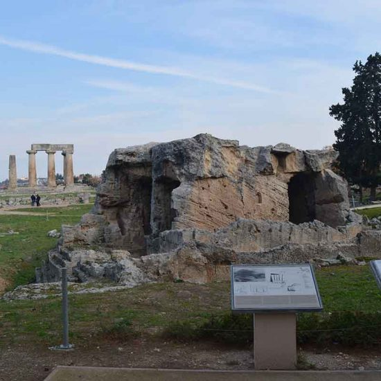 corinth guided tour